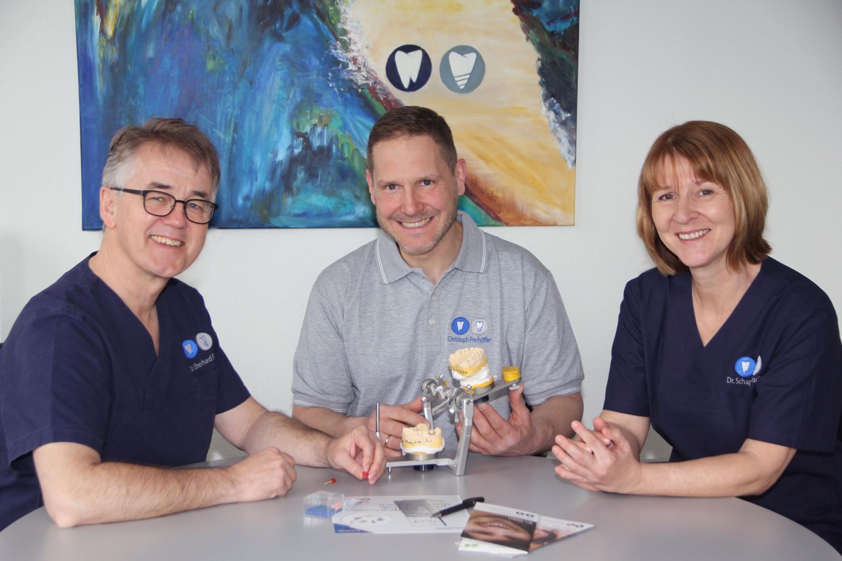 Zahnersatz für Implantate